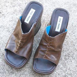 Vintage Steve Madden Wedge Platform Sandals